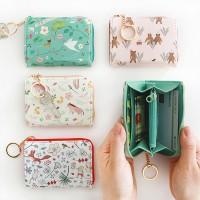 윌로우 패턴 지퍼 카드 지갑 Ver.2