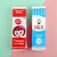 우유 봉제필통