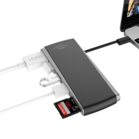 [무아스] 맥북프로 P1 USB Type-C Hub / 충전이 가능한 타입C 허브