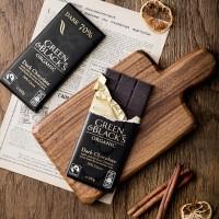 [공정무역] 그린앤블랙 유기농 다크초콜릿 70% 100g