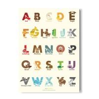 ablebamboo 알파벳 포스터[Alphabet 002]