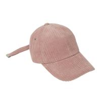 UNISEX BIG CORDUROY BASEBALL CAP aaa056u(Pink)_(902404677)
