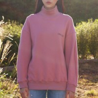 BIG STAMP SWEATSHIRT_PINK