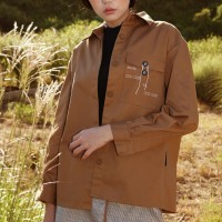ENVELOPE JACKET SHIRT_BROWN