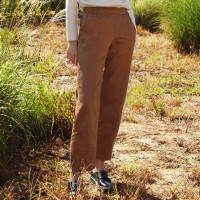BANDING POINT PANTS_BROWN