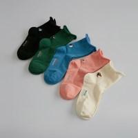 5 bird printing socks