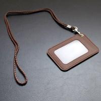 리더플랜 디자인 카드 목걸이 지갑 고급형 사원증_(602574223)