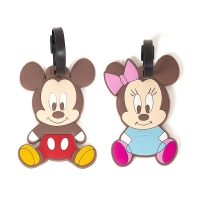 [디즈니] 미키마우스 미니마우스 캐리어 네임택