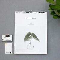 2018 Slow Life Wall Calendar - 슬로우라이프 벽걸이캘린더