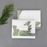 2018 Slow Life Desk Calendar - 슬로우라이프 데스크캘린더