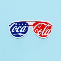 [코카콜라]America 스티커(선글라스)