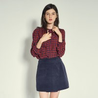 POCKET POINT WRAP MINI SKIRT_NA