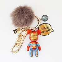 아이언맨 (FOX FUR) keyring