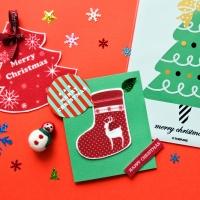 크리스마스 DIY카드 30set