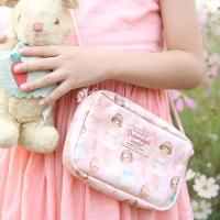 Oil-cloth mini string Bag