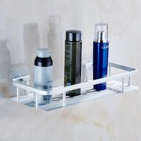 알루미늄 사각 욕실선반 1단