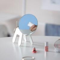 [A;Label] 마인 탁상 거울 강아지 택1