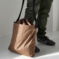active unisex bucket bag - khaki color