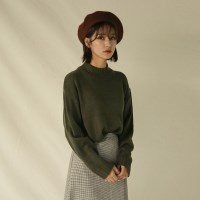 loose fit basic knit