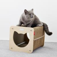 고양이하우스,숨숨집,해먹,스크래쳐-요기캣박스