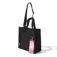 CHEAPEST FLIGHT ECO BAG - BLACK_(994503)