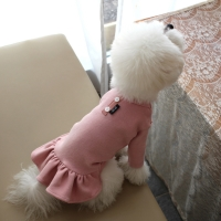 [O.롱데일리버튼원피스]Long daily button Onepiece_Pink