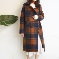 Check Double COAT (2-color)