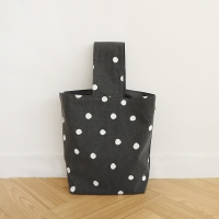 ink drop tote bag