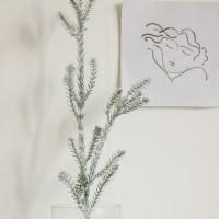 스노우 파인 트리 가지(크리스마스 장식/소품)_(1031415)