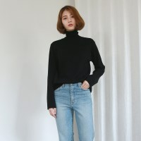 [MONDAY STUDIO] Daily soft pola knit
