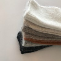 angora simple socks (7colors)