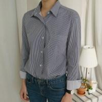 스트라이프 베이직 셔츠 (3-COLORS)