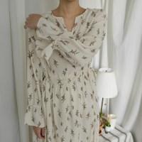 제인 플라워 롱 드레스 (2-COLORS)