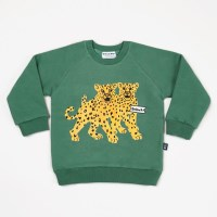 Green Two Leo Sweatshirts
