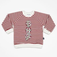 Red Ball Stripe Sweatshirts