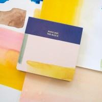 memo pad the block(water colors)