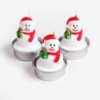 크리스마스 캔들 (1set)