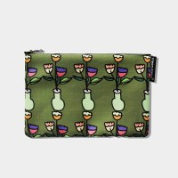 olive flower pouch m