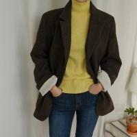 [WOOL70%] 보이핏 모던 자켓 (2-COLORS)
