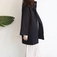 Wool Simple HalfCOAT