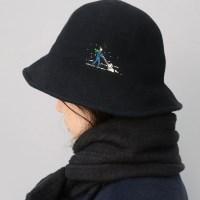 눈 온다 모자
