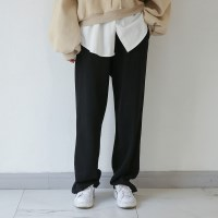 banding loose cotton pants
