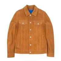 suede trucker jacket (Beige)_(731939)