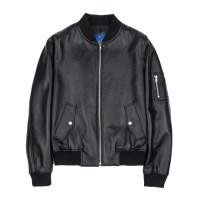 lambskin MA-1 jacket (MEN) (Black)_(731936)