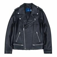 lambskin type-2 rider jacket (MEN) (Black)_(731933)