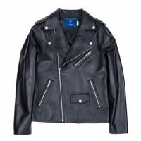 lambskin rider jacket (MEN) (Black)_(731930)