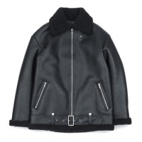 type B-3 mouton jacket (Black)_(731926)