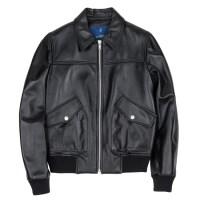 lambskin A-1 jacket (WOMAN) (Black)_(731913)
