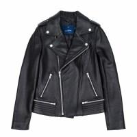 lambskin type-2 rider jacket (WOMAN) (Black)_(731912)