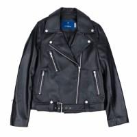 lambskin type-1 rider jacket (WOMAN) (Black)_(731911)